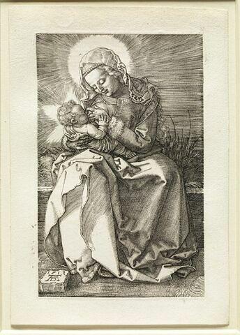 Vierge donnant le sein à l'enfant Jésus