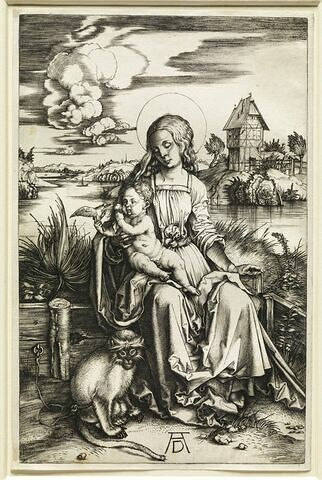Vierge au singe