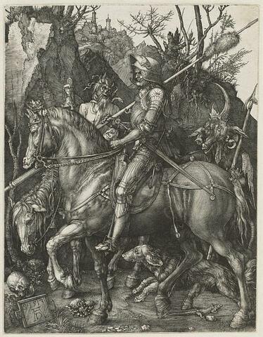 Le chevalier, la mort et le diable