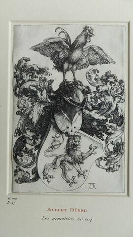 Les armoiries du coq