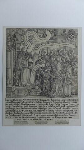 Maximilien 1er adorant Dieu