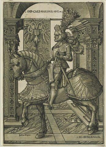 L'Empereur Maximilien à cheval