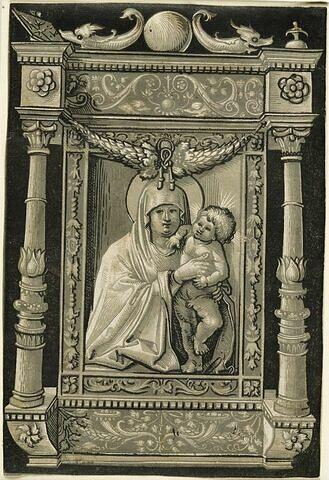 La Vierge et l'enfant Jésus