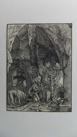 Saint Jérôme dans sa caverne