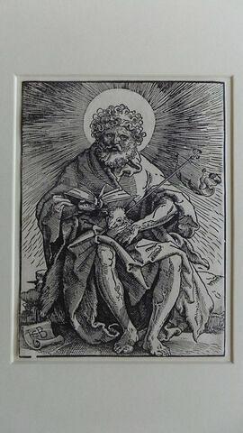 Saint Jean Baptiste assis