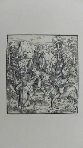 Illustration du Tewrdanck avant le texte au verso