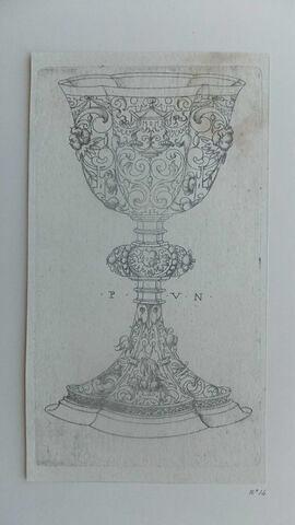 Un vase à boire (aigle sur le pied)