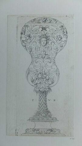 Un vidrecome (tige palmier)