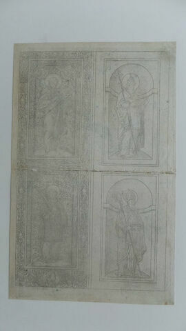Détail Musée du Louvre - Département des Arts Graphiques