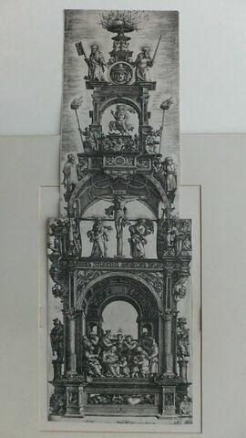 Frontispice d'architecture (Vie de Jésus)
