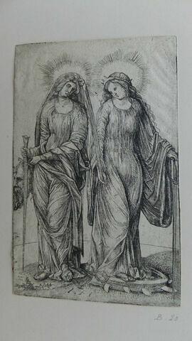 Judith et Ste Catherine