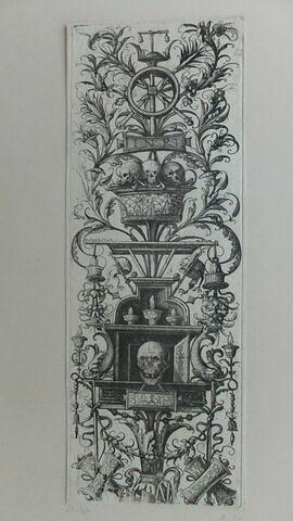 Panneau d'ornements