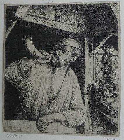 Le boulanger sonnant du cornet