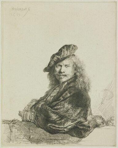 Rembrandt appuyé