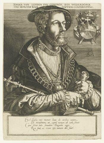 Jean de Leyde, chef des anabaptistes