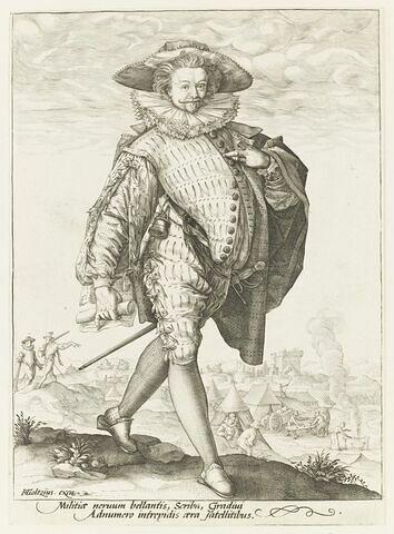 Un écrivain d'armée hollandais