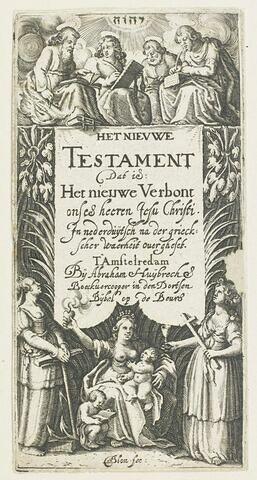 Titre du Nouveau Testament ( ? )
