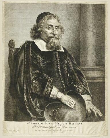 Portrait d'Ephraïm Bueno dit Bonus
