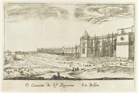 O Covento de Santo Hieronimo em Bellem