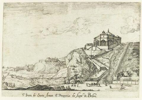 Vista do Santo Amaro propectiva do Lugar de Bellem