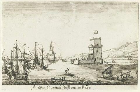 A Torre E entrada da Barra de Bellem