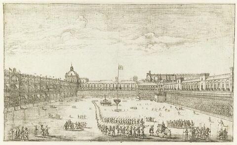 Cour du Palais royal de Lisbonne
