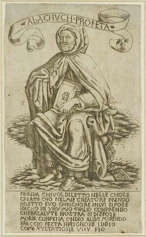 Le prophète Habacuc