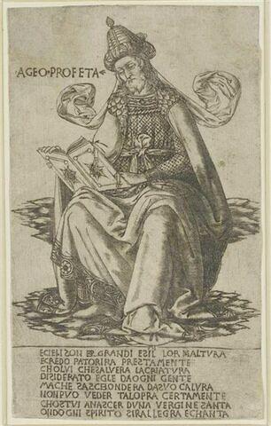 Le prophète Haggai