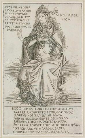 La Sibylle Persique