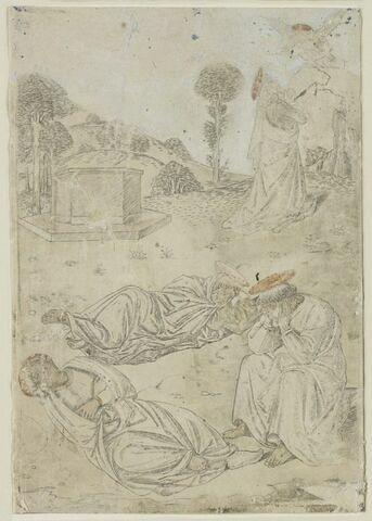 Le Christ au mont des oliviers