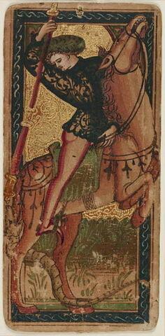 Carte à jouer : Saint Georges