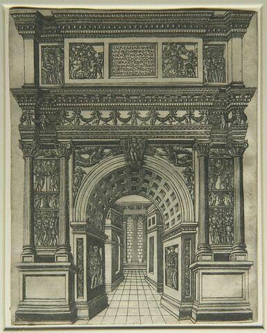 Arc de triomphe de Trajan à Bénévent
