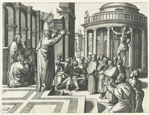 Saint Paul prêchant à Athènes