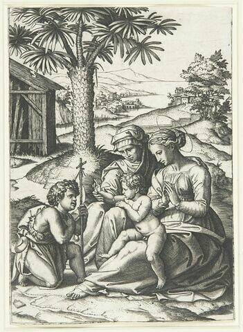 La vierge au palmier