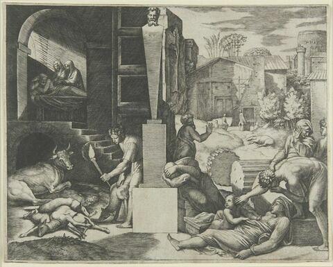 La peste de Crète ou Morbetto