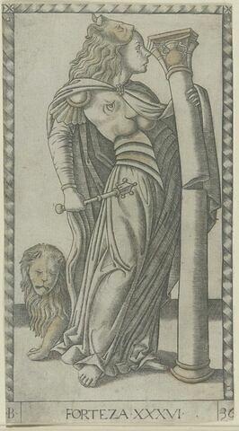 Carte de tarot vénitien - Forteza