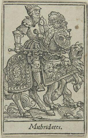 Carte à jouer.Mithridate