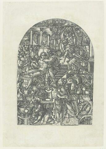 Le martyre de Saint Jean l'évangéliste