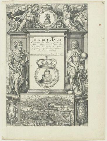 Titre de l'ouvrage contenant les noms des chevaliers du Saint Esprit