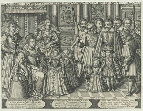 La régence de la reine - 1613