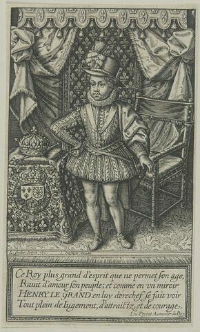 Louis XIII à l'âge de dix ans