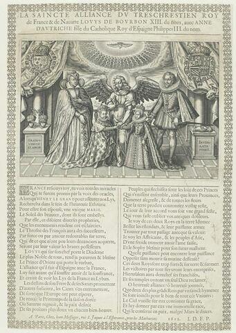 La sainte alliance de Louis XIII et Anne d'Autriche