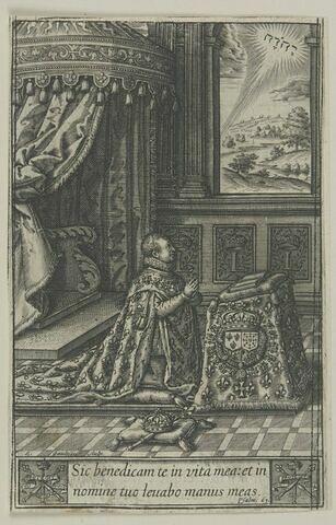 Louis XIII en prières