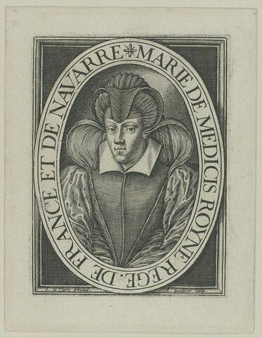 Marie de Médicis en costume de veuve