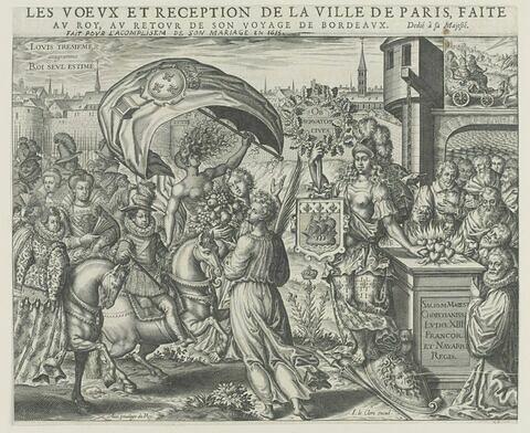 1615 - Voeux et réception de la ville de Paris