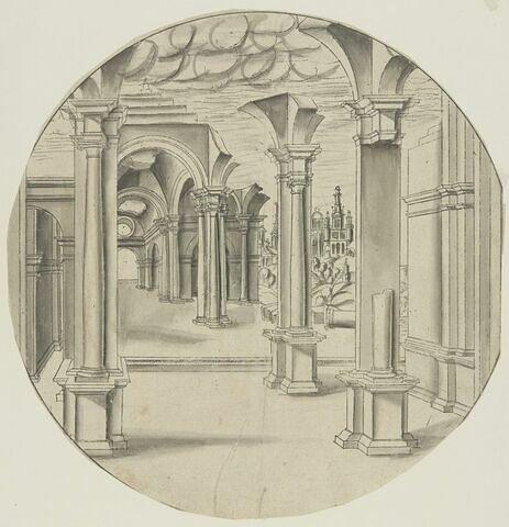 Portique antique