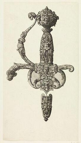 Poignée d'épée