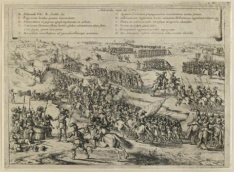Guerre de Belgique de Strada (prise d'Oudenaarde 1587)