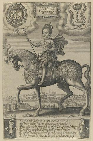 Louis XIII, portrait équestre
