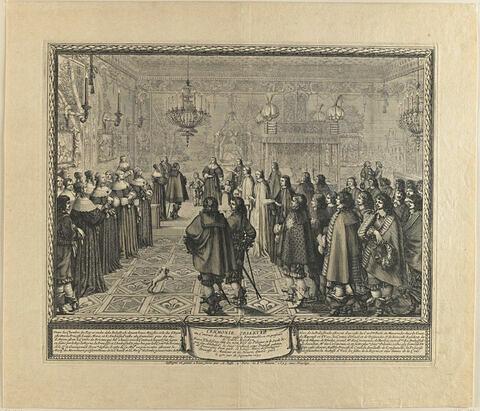 Cérémonie du contrat de Fontainebleau